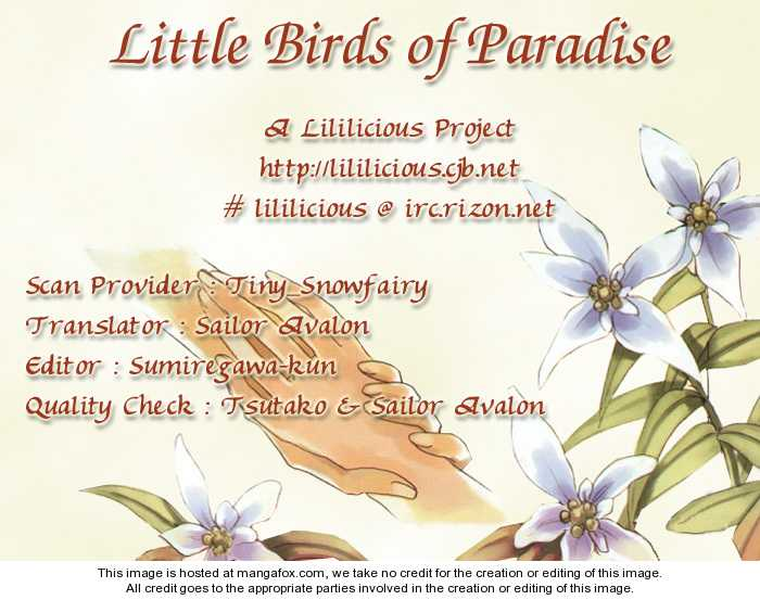 Little Birds of Paradise 1 Page 2