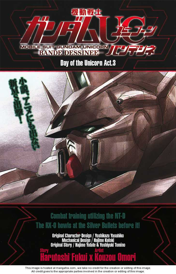 Gundam UC: Bande Dessinee 3 Page 1