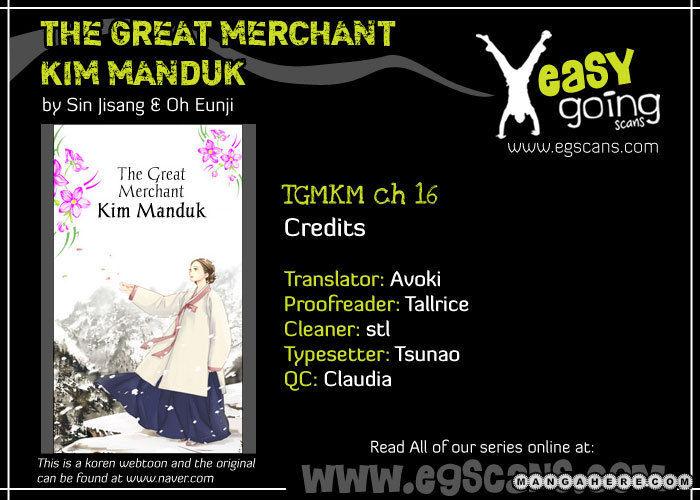 The Great Merchant Kim Manduk 16 Page 2