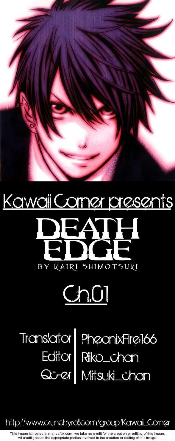 Death Edge 1 Page 1