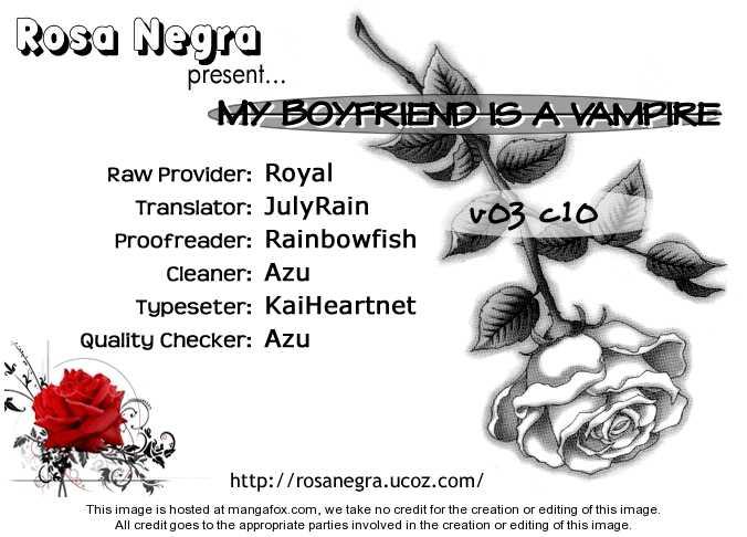 My Boyfriend is a Vampire 10 Page 1