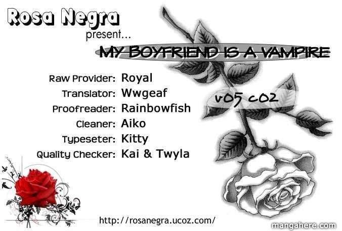 My Boyfriend is a Vampire 18 Page 1
