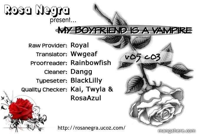 My Boyfriend is a Vampire 19 Page 1