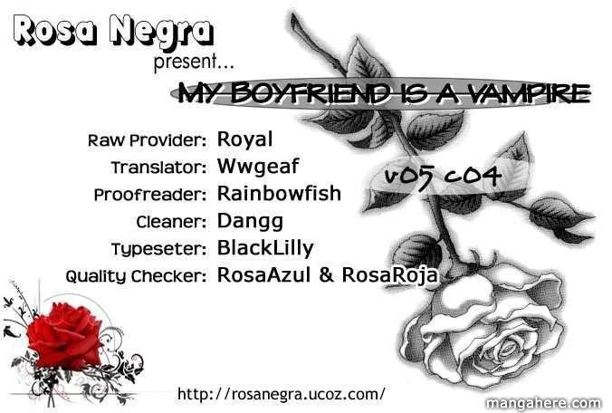 My Boyfriend is a Vampire 20 Page 1