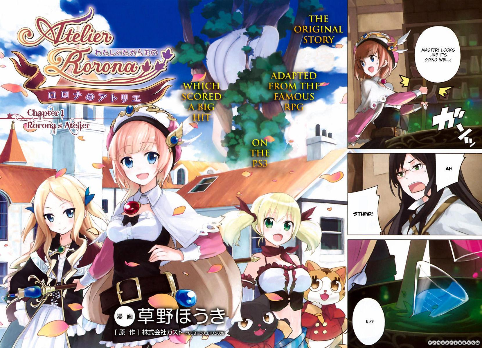 Rorona no Atelier: Watashi no Takaramono 1 Page 2