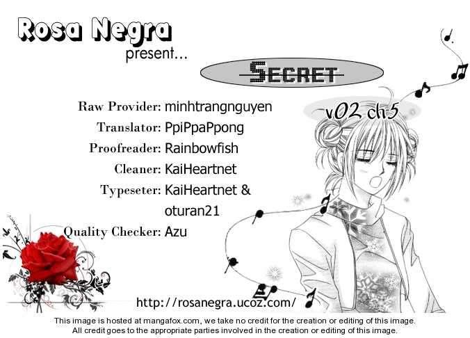 Secret (HAN Yu-Rang) 5 Page 2