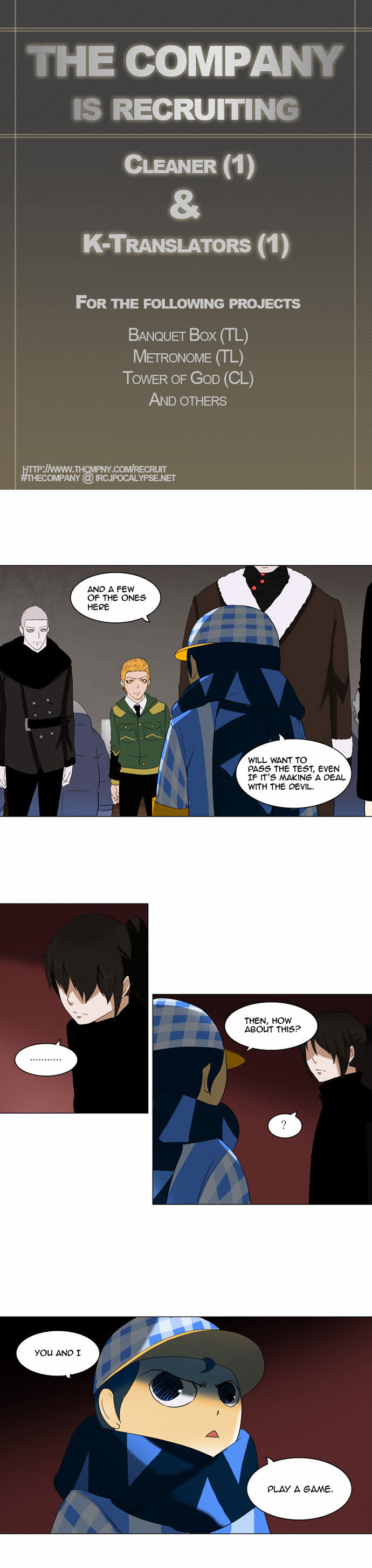 Tower of God 89 Page 1