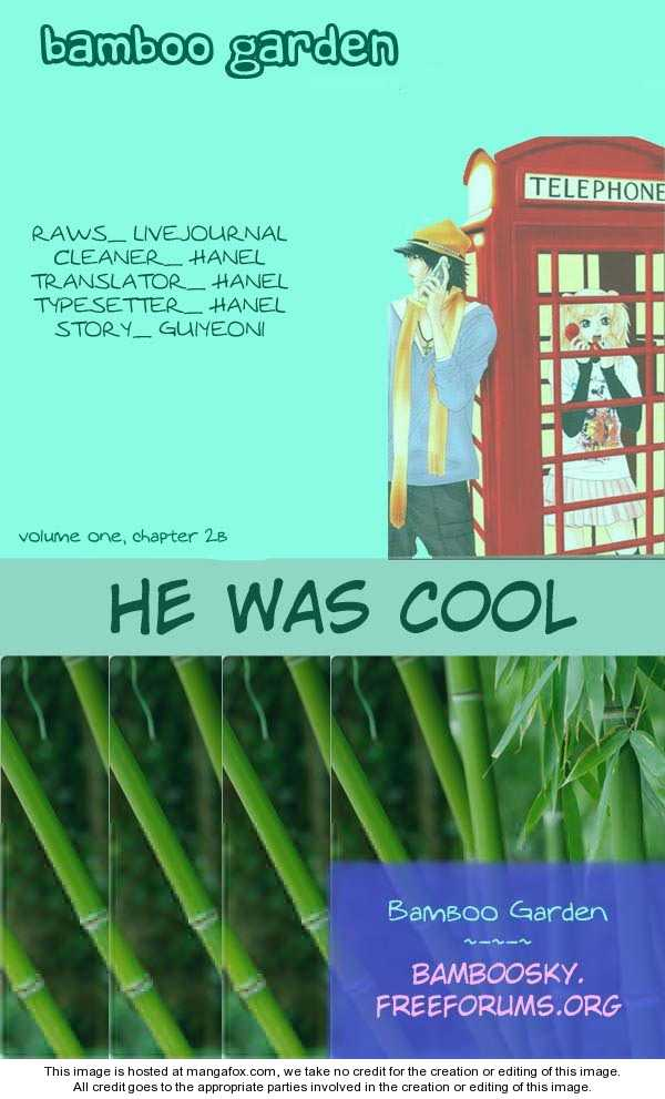 He was cool 2.2 Page 1