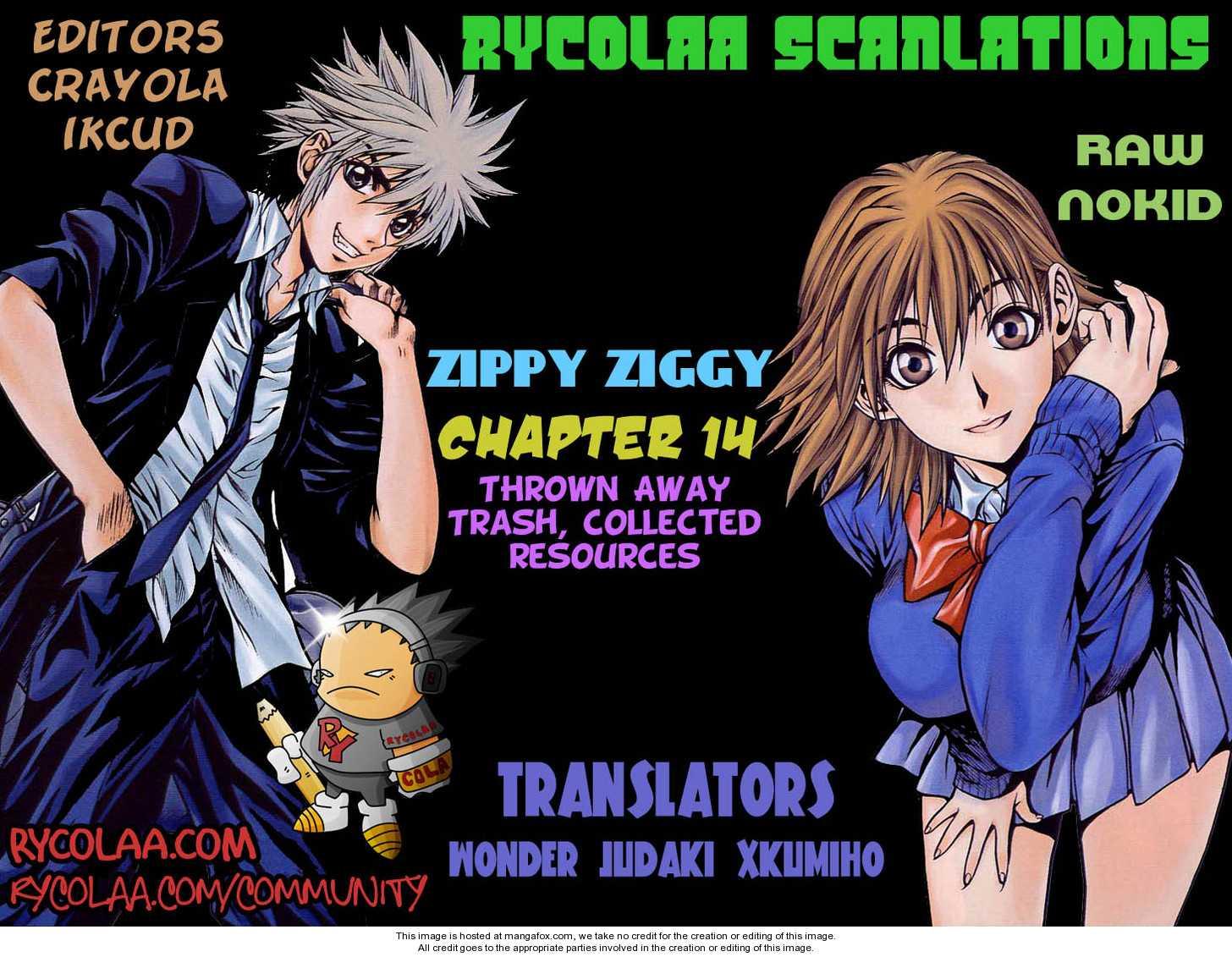 Zippy Ziggy 14 Page 1