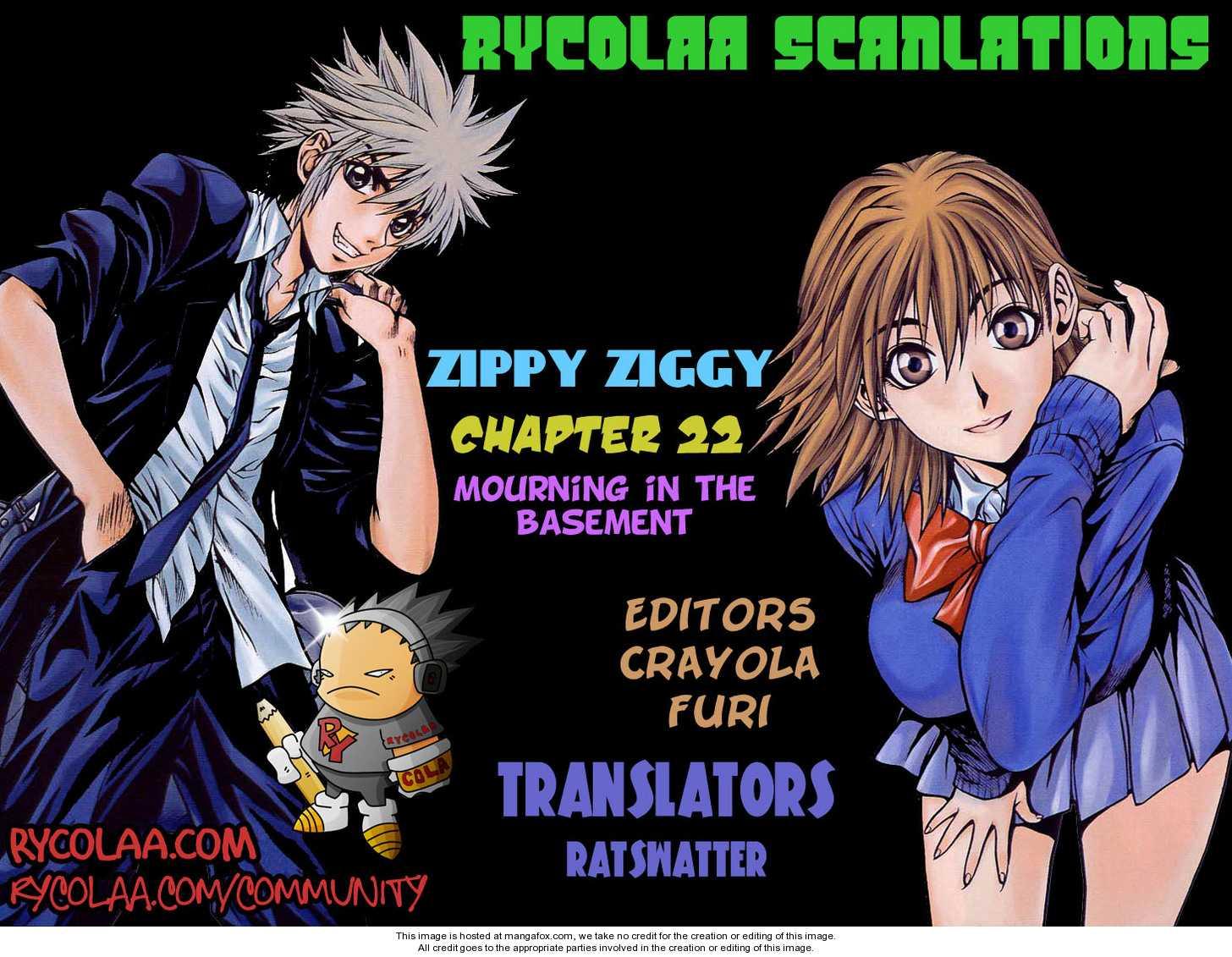 Zippy Ziggy 22 Page 1