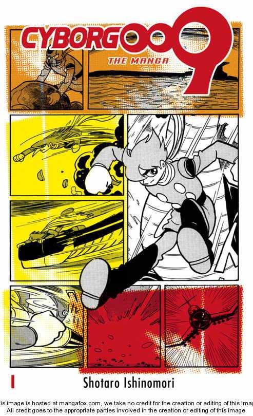 Cyborg 009 0 Page 1
