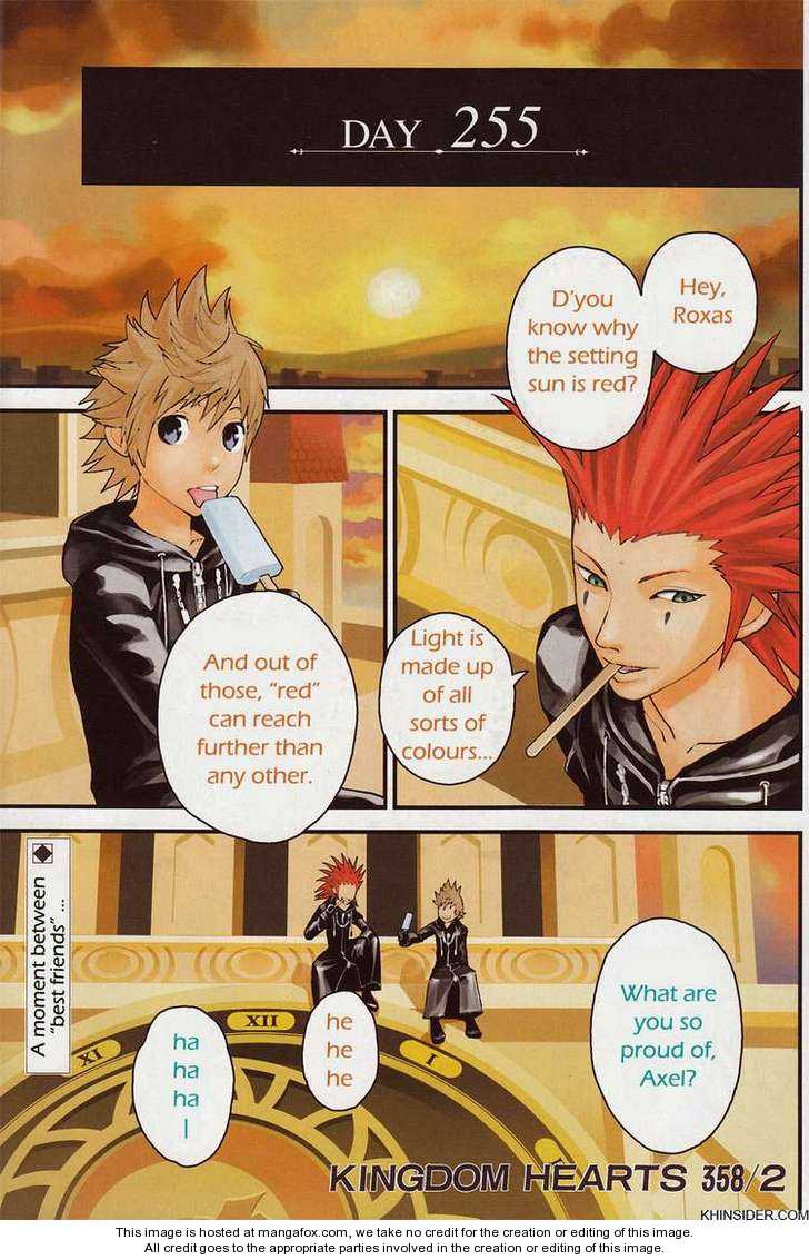 Kingdom Hearts: 358/2 Days 1 Page 1
