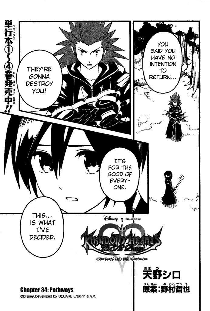 Kingdom Hearts: 358/2 Days 34 Page 1