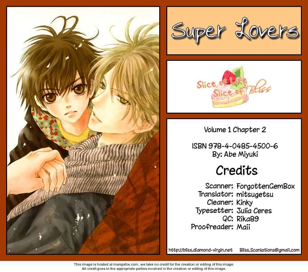 Super Lovers 2 Page 1