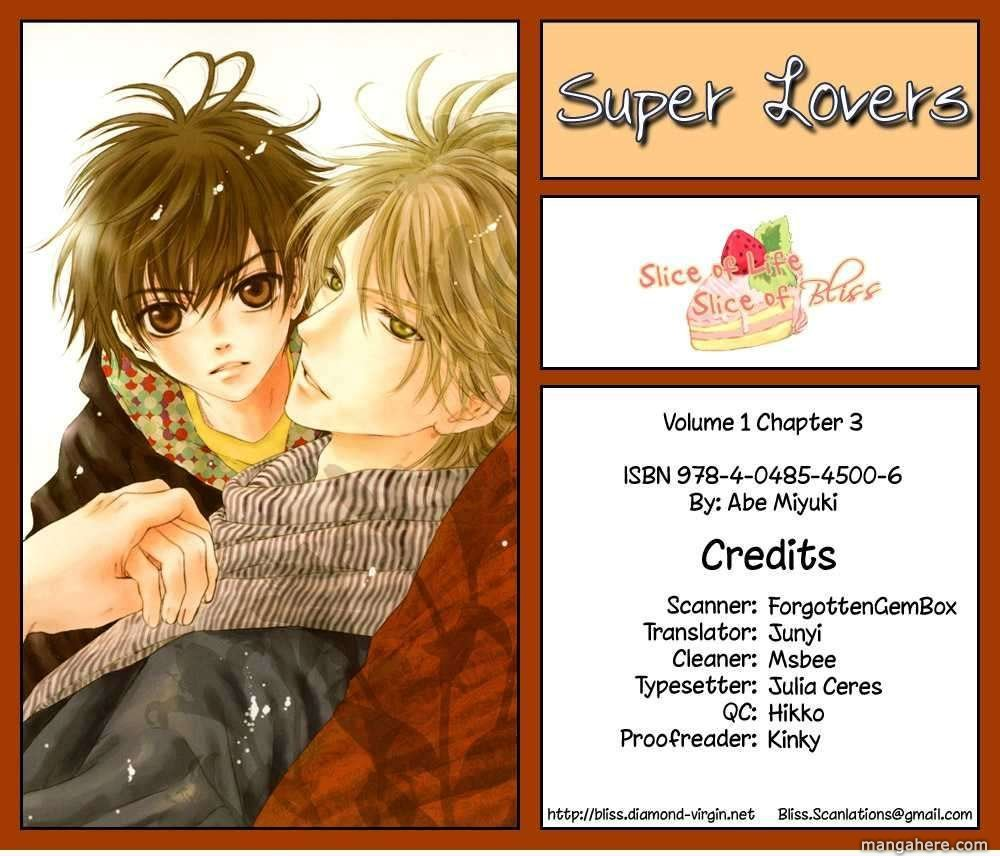 Super Lovers 3 Page 1
