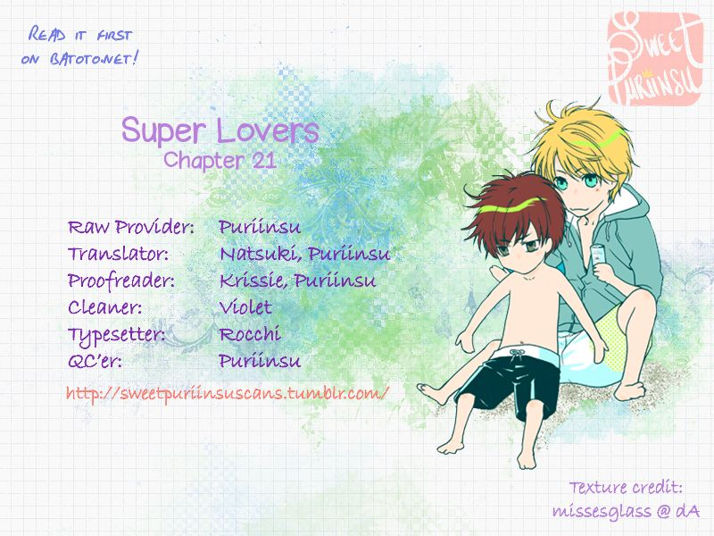 Super Lovers 21 Page 1