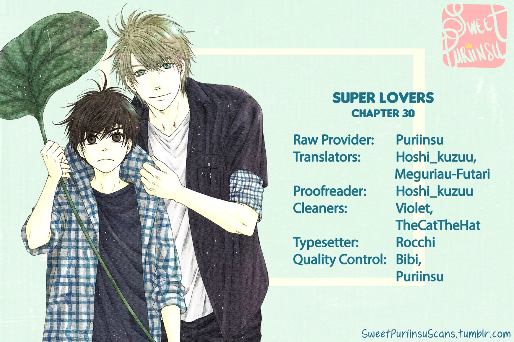 SUPER LOVERS - Chapter 30 - 1