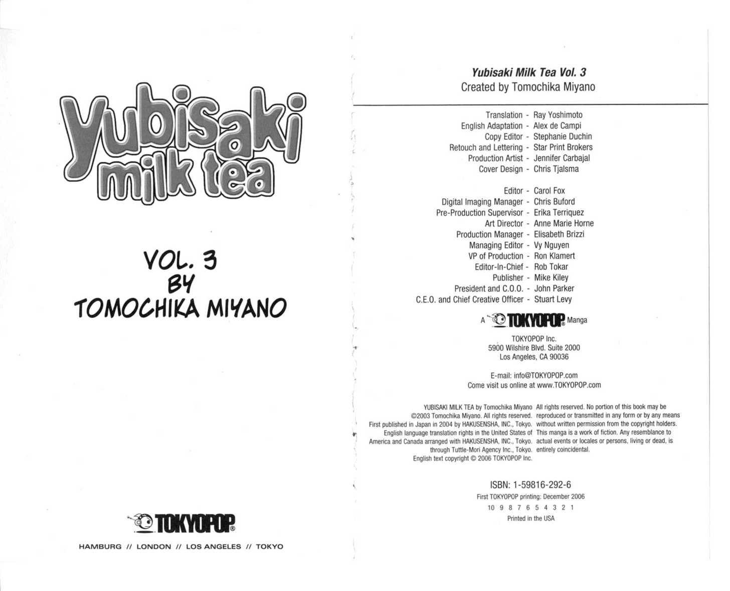 Yubisaki Milk Tea 0 Page 3