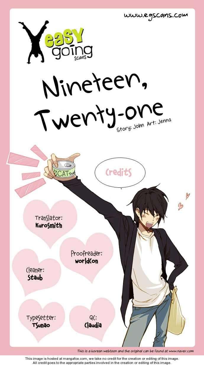 Nineteen, Twenty-One 4 Page 1