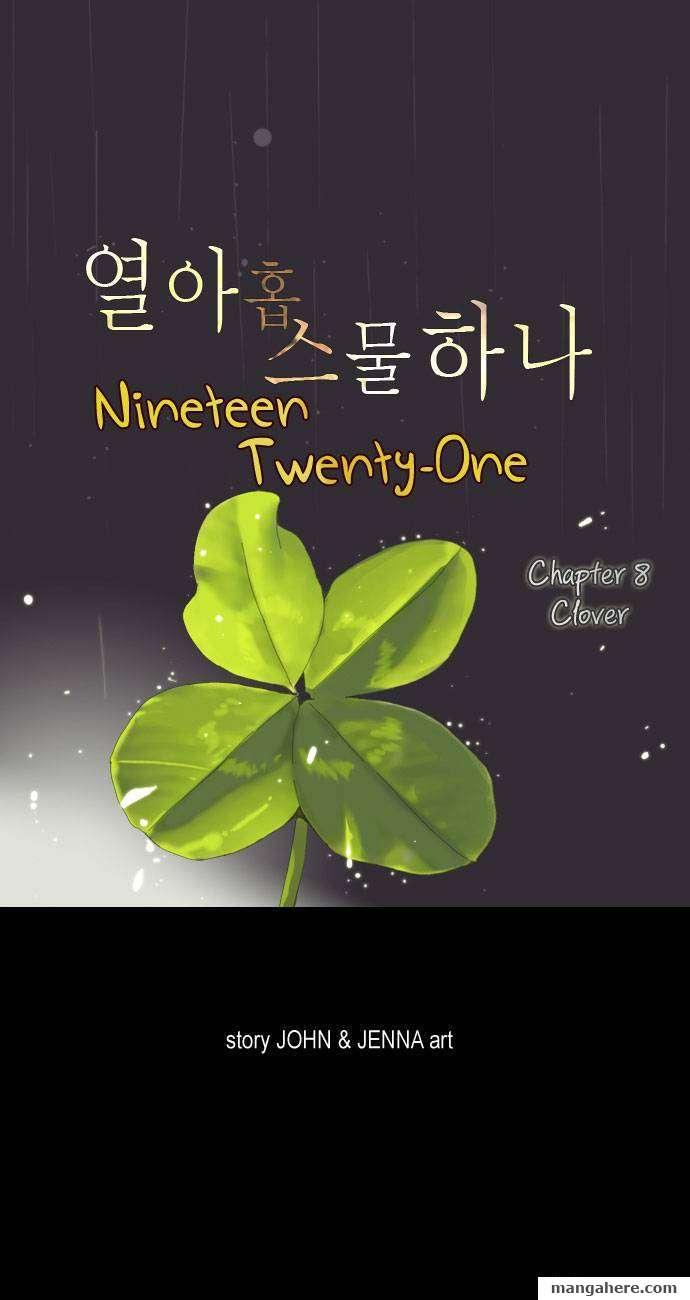 Nineteen, Twenty-One 8 Page 1