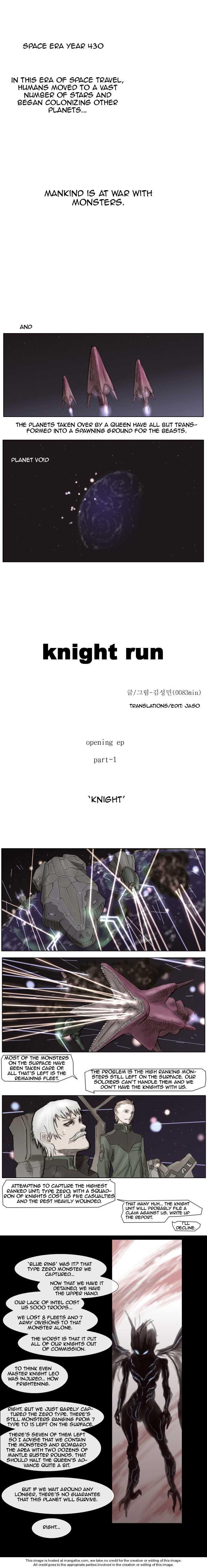Knight Run 1 Page 1