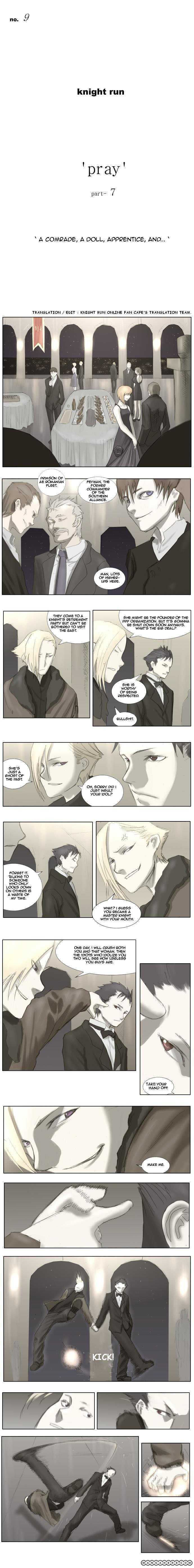 Knight Run 9 Page 1