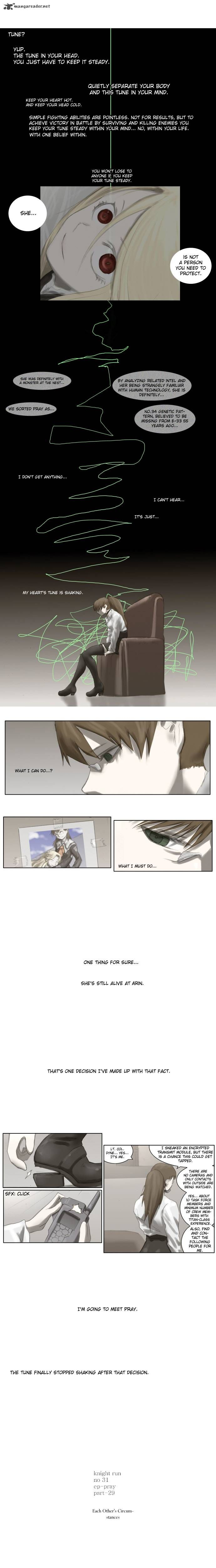 Knight Run 31 Page 1