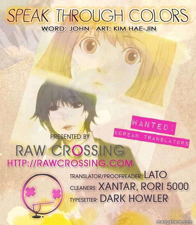 Speak Through Colors 3 Page 1