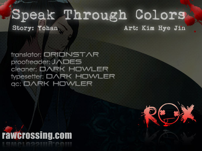 Speak Through Colors 18 Page 1