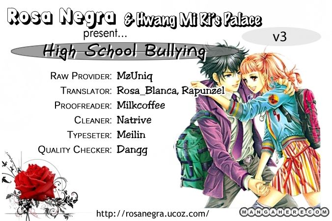 Oh Chunja Chunja High School Bullying 12 Page 1