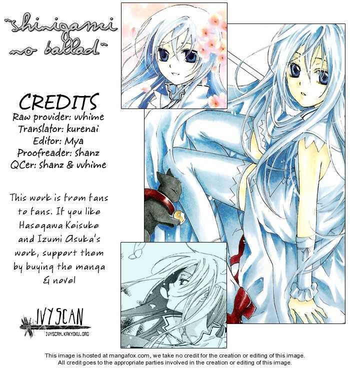 Shinigami no Ballad 10 Page 1