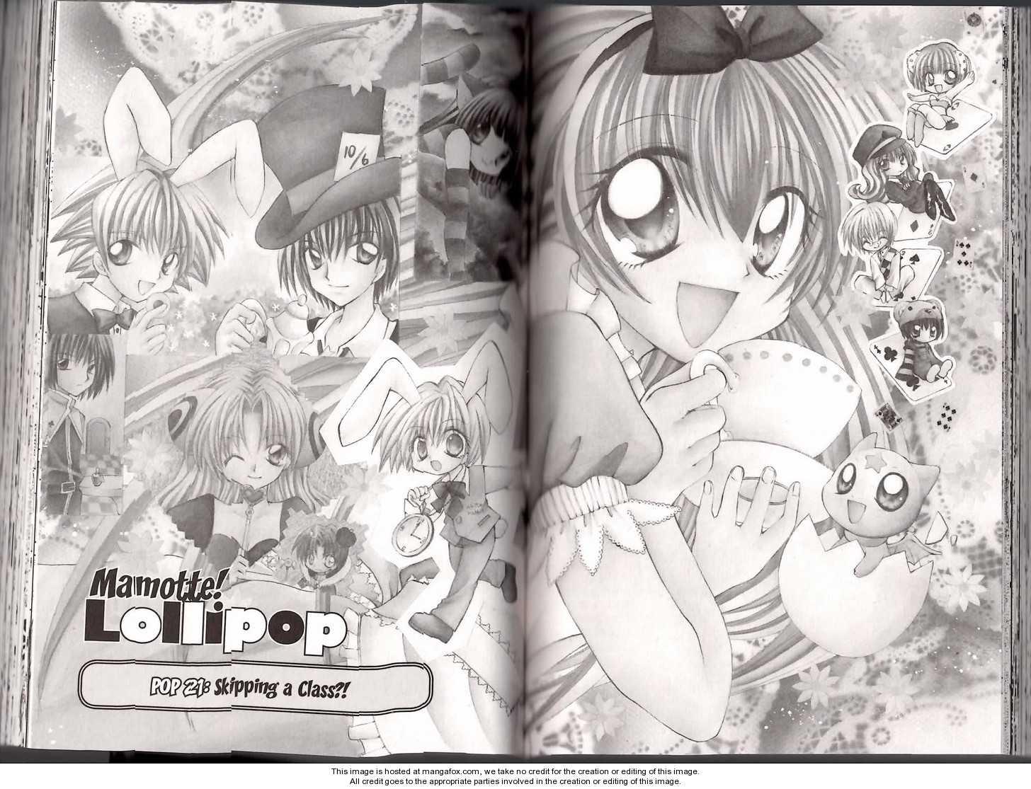 Mamotte! Lollipop 21 Page 1
