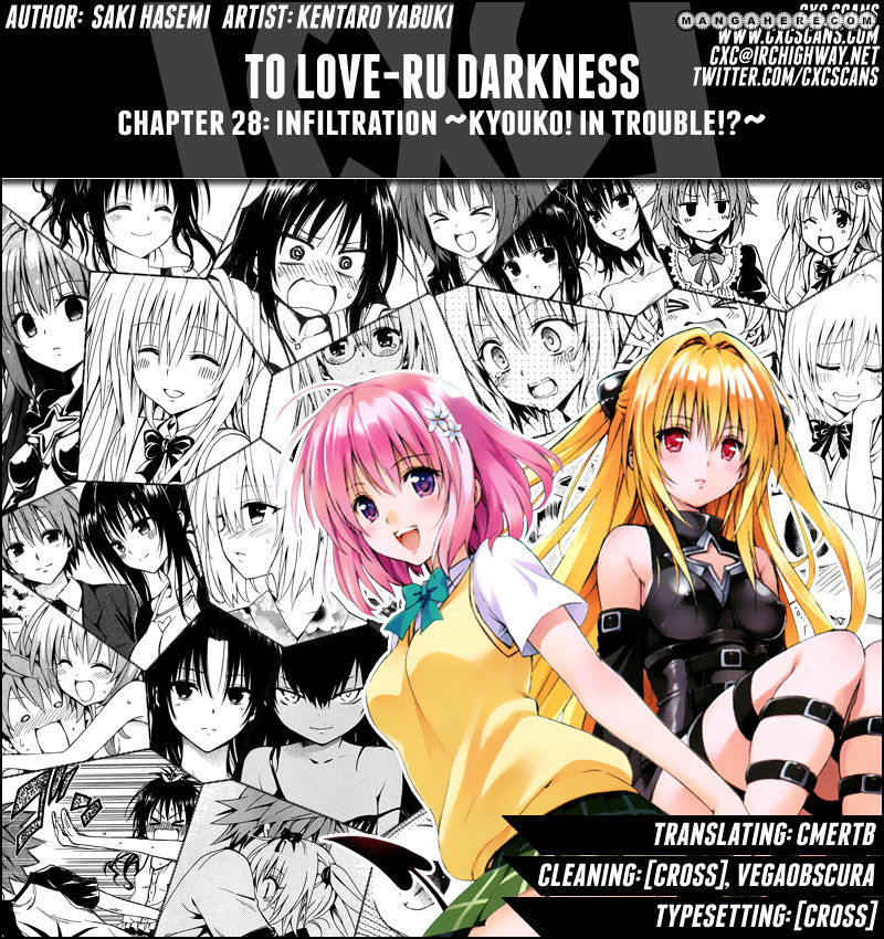 To Love Ru Darkness 28 Page 1