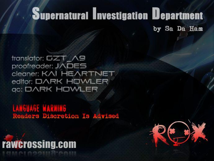 Supernatural Investigation Department 51 Page 1