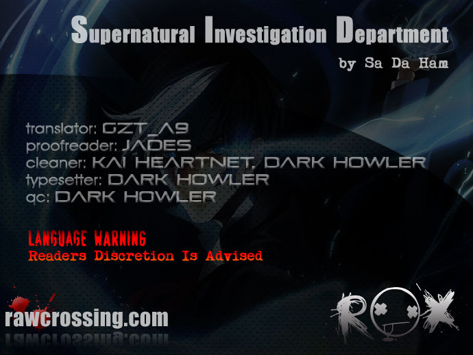 Supernatural Investigation Department 57 Page 1