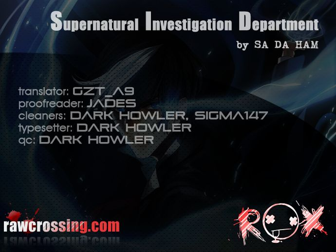Supernatural Investigation Department 62 Page 1