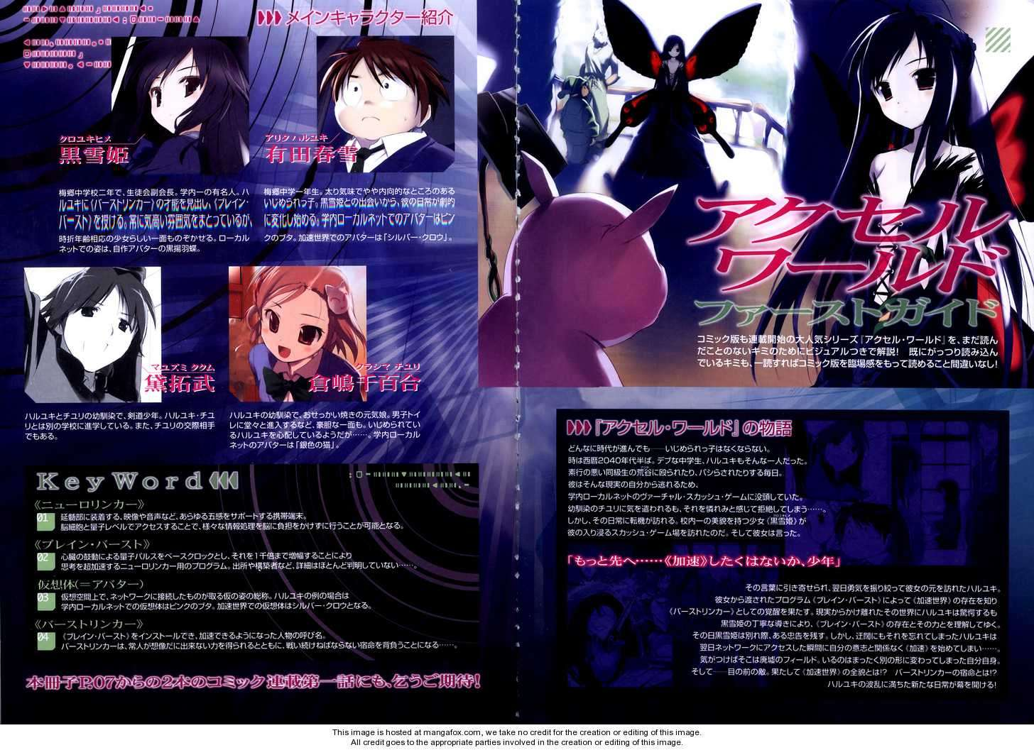 Accel World 1 Page 1
