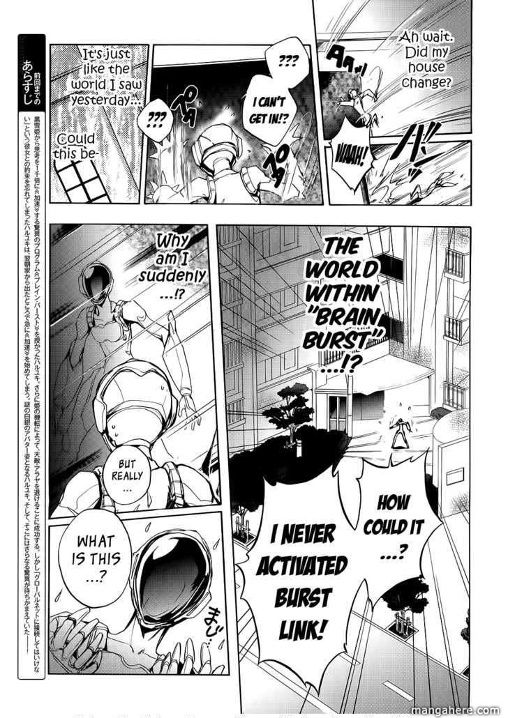 Accel World 3 Page 3