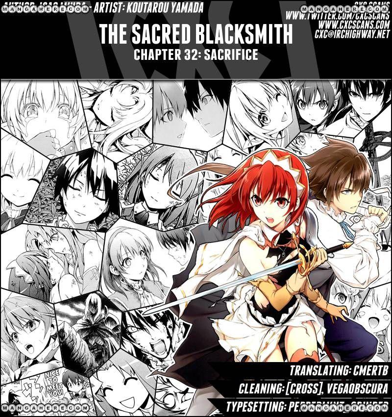 The Sacred Blacksmith 32 Page 1
