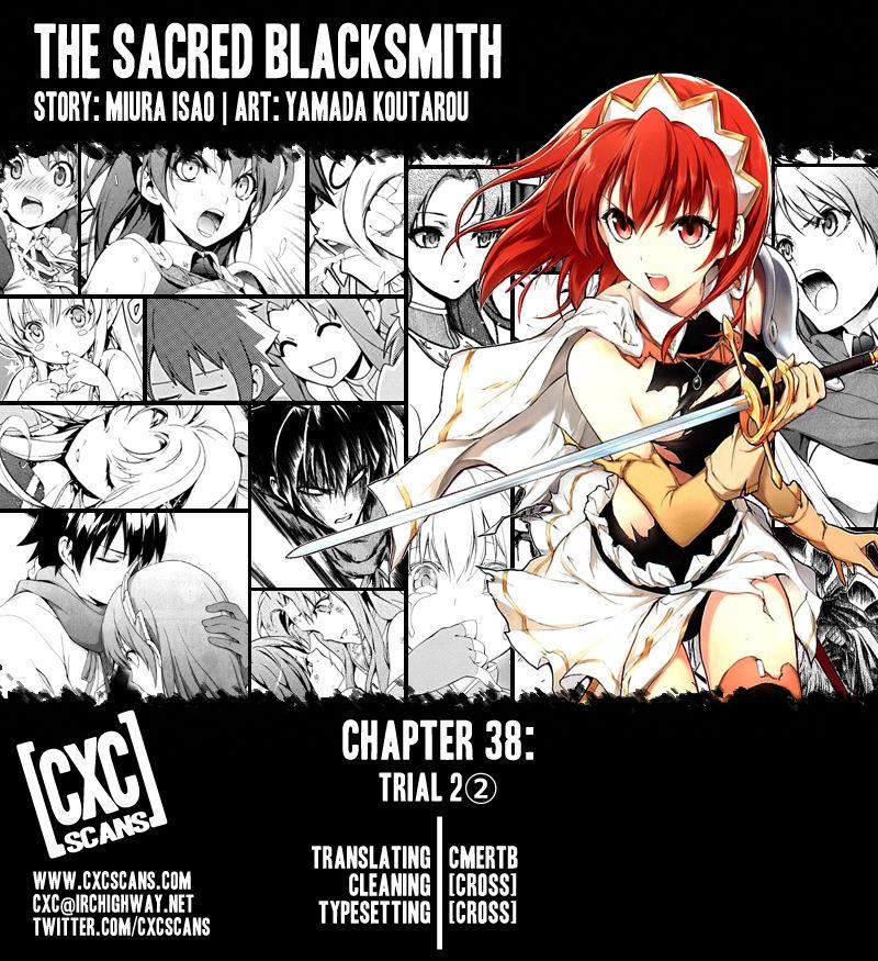 The Sacred Blacksmith 38 Page 1