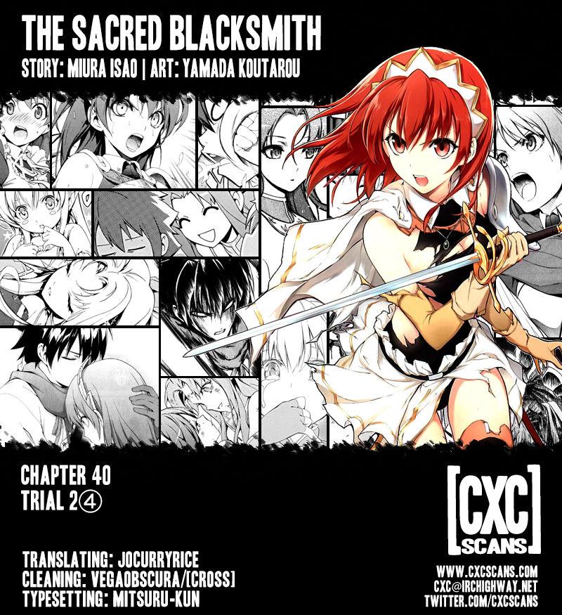 The Sacred Blacksmith 40 Page 1