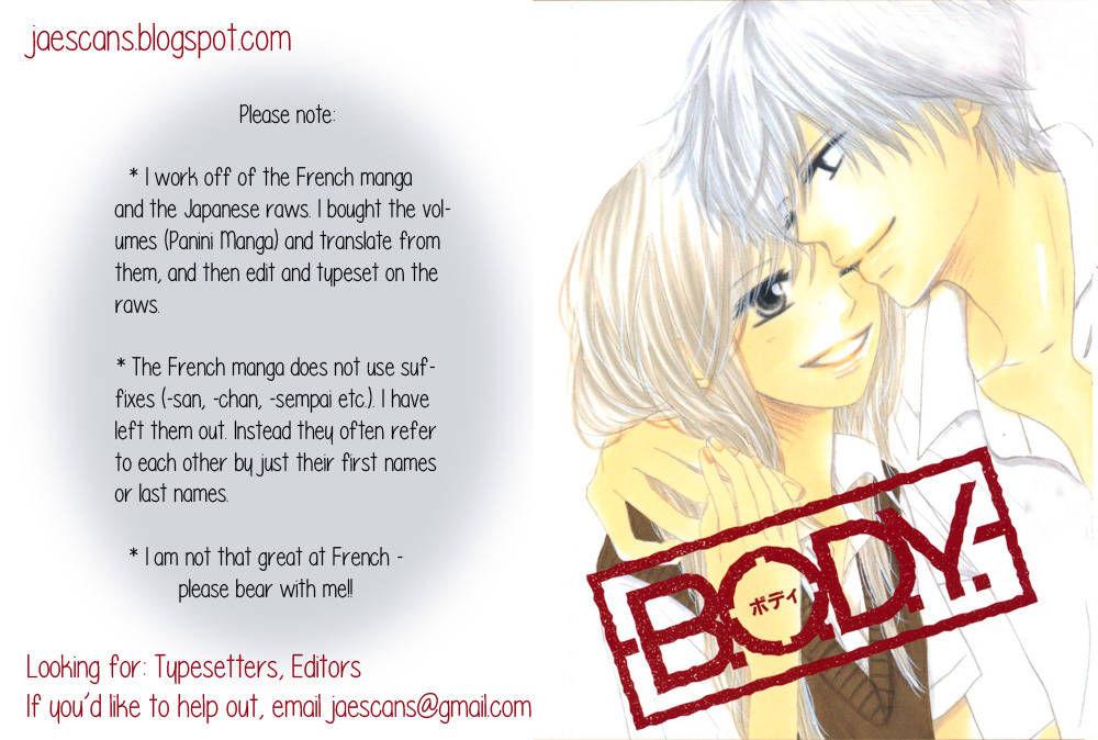 B.O.D.Y. 40 Page 1