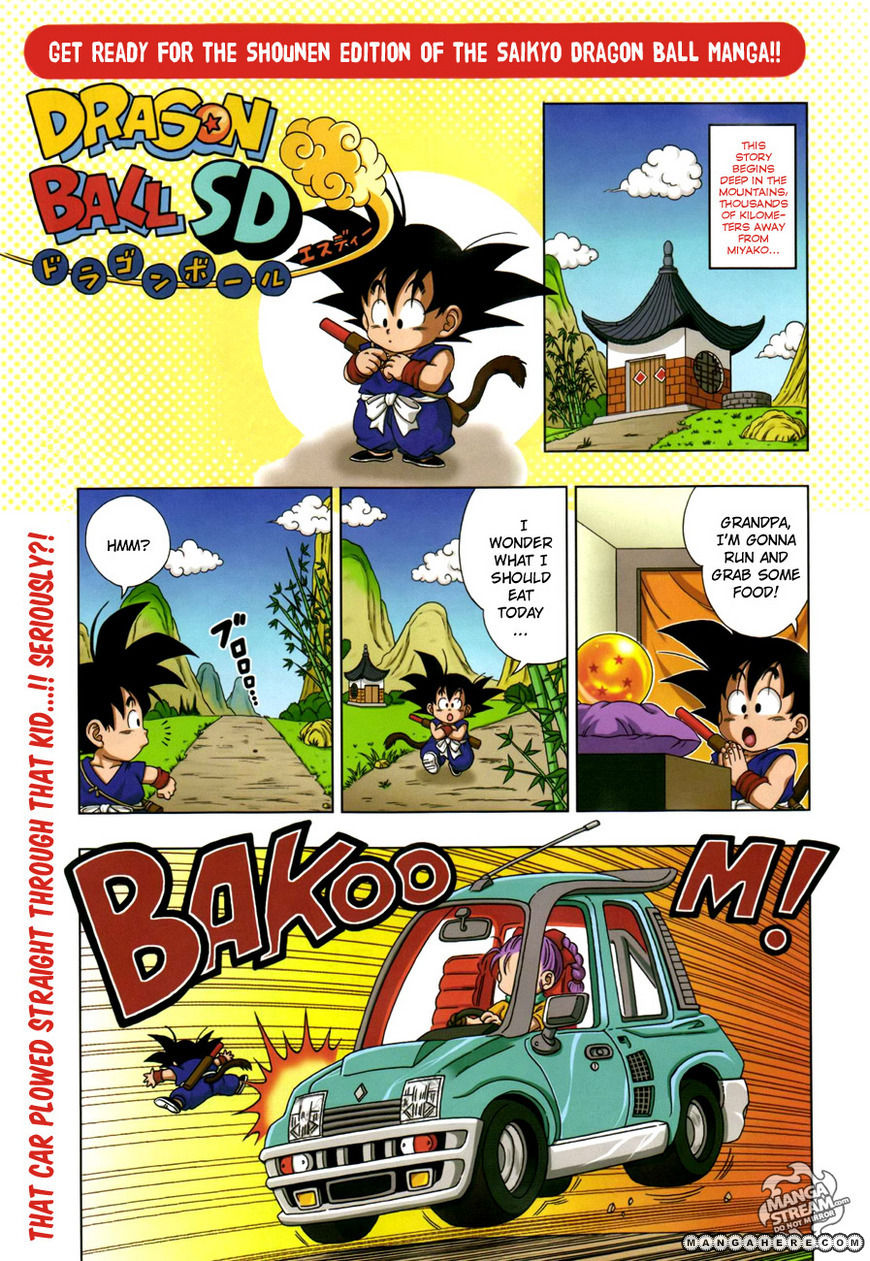 Dragon Ball SD 5 Page 1
