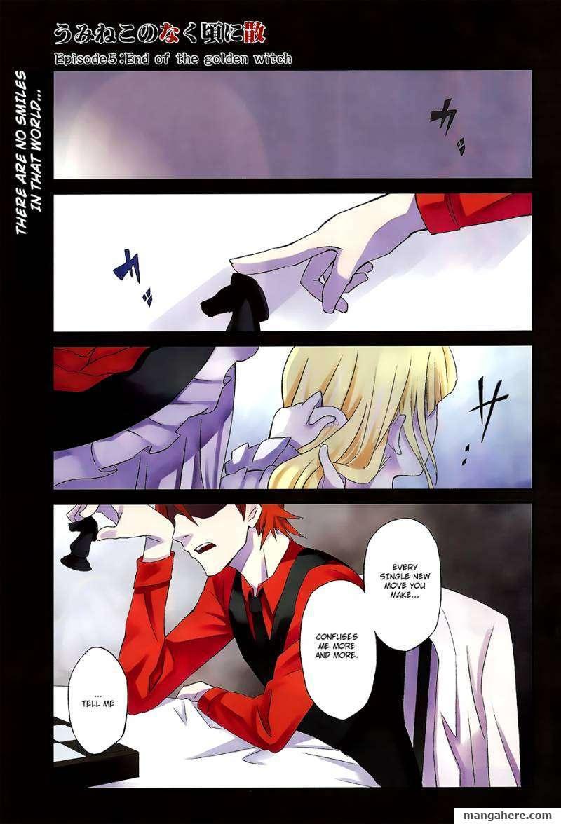 Umineko No Naku Koro Ni Chiru Episode 5 End Of The Golden Witch 1 Page 2