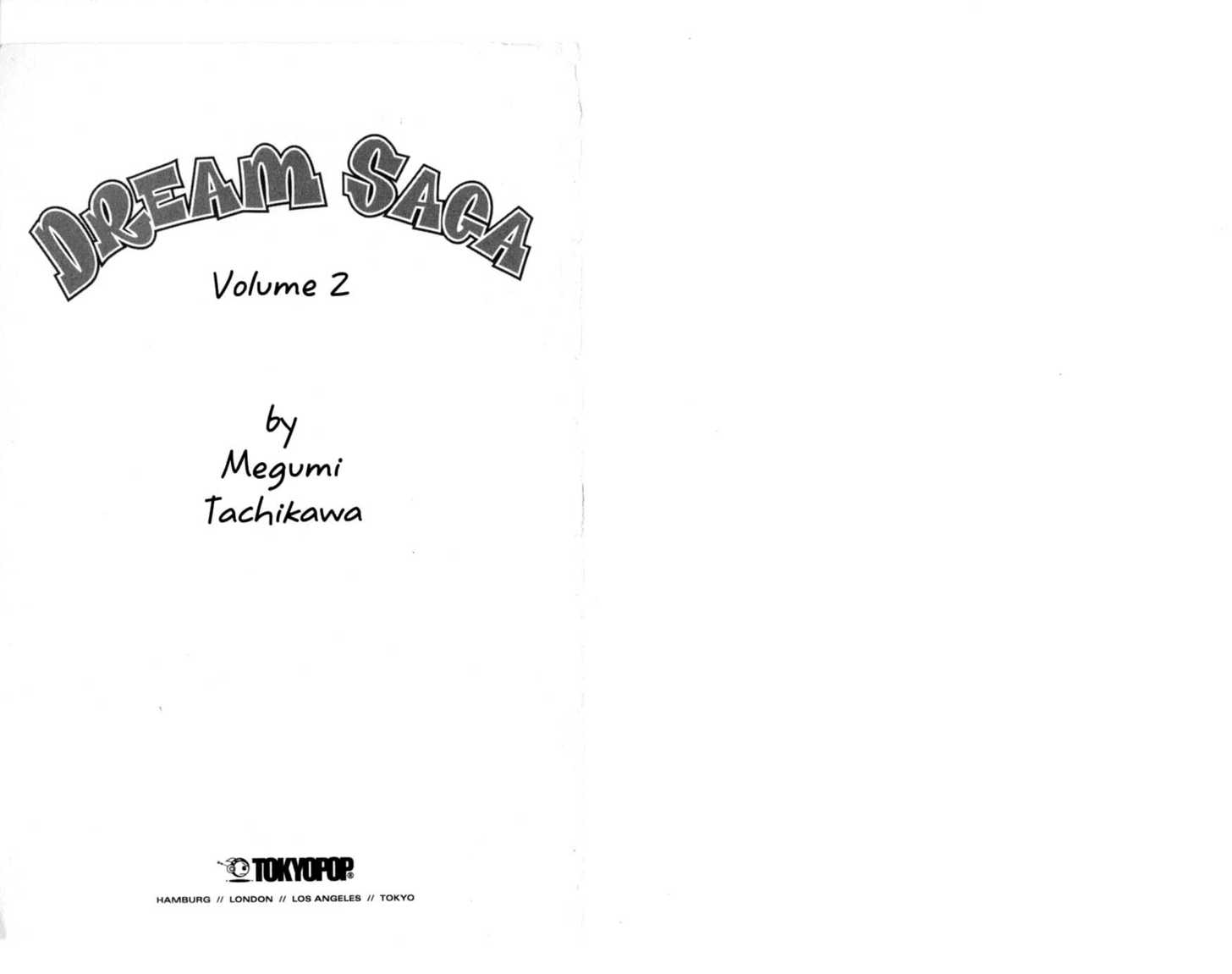 Dream Saga 0 Page 2
