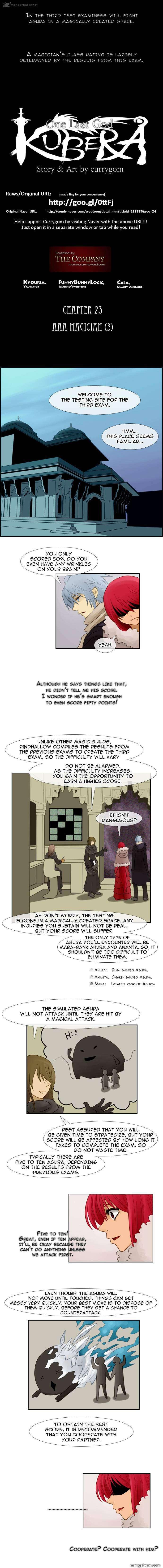 Kubera 23 Page 1