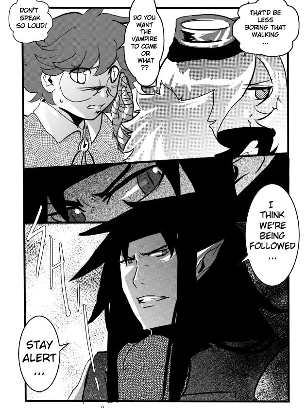 Midnight Hunters 12 Page 3