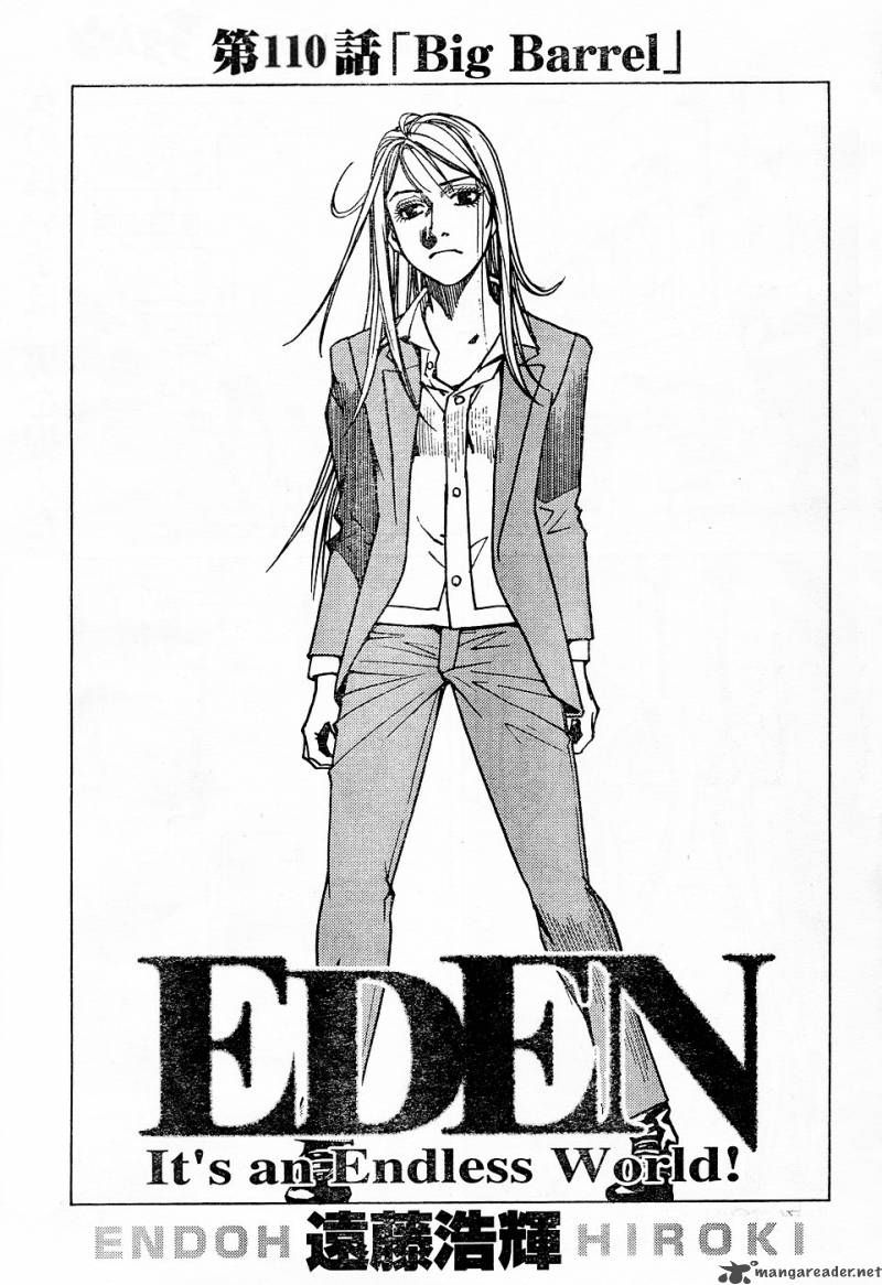 Eden: It's an Endless World! 110 Page 1