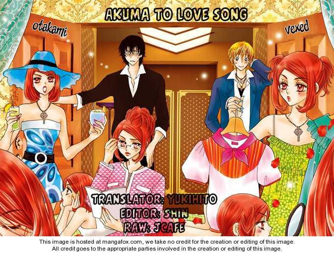 Akuma to Love Song 37 Page 1