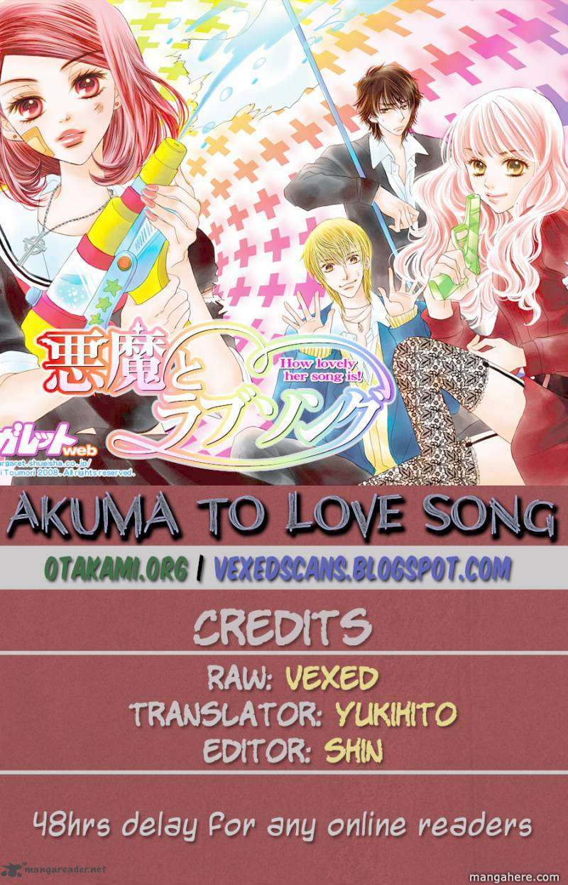 Akuma to Love Song 50 Page 1